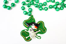 Pirate Four Leaf Clover Bead