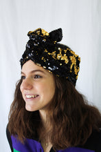 Reversible Sequin Turbans/Headbands (5 Color Options)