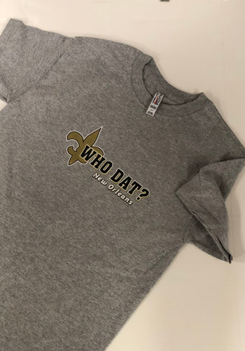Saints Who Dat T-shirt