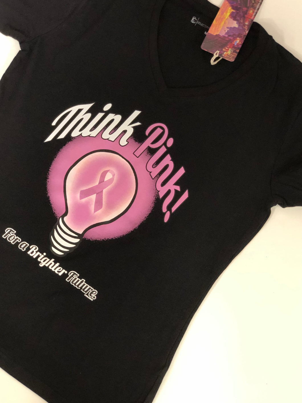 Think Pink for a Brighter Future T-Shirt