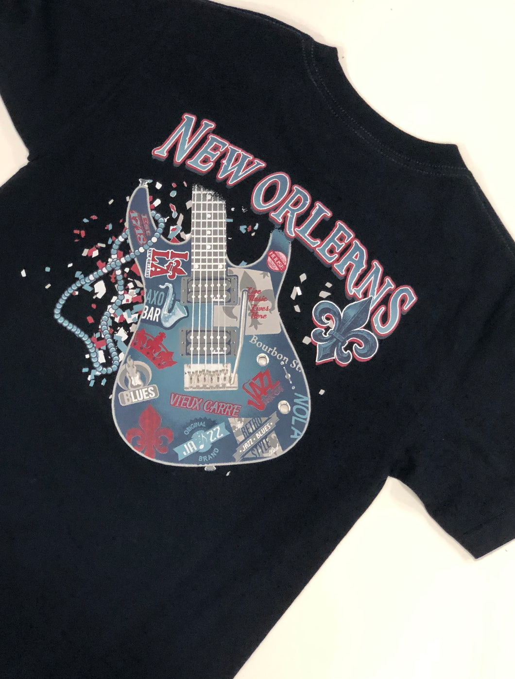 New Orleans All Over Guitar T-Shirt