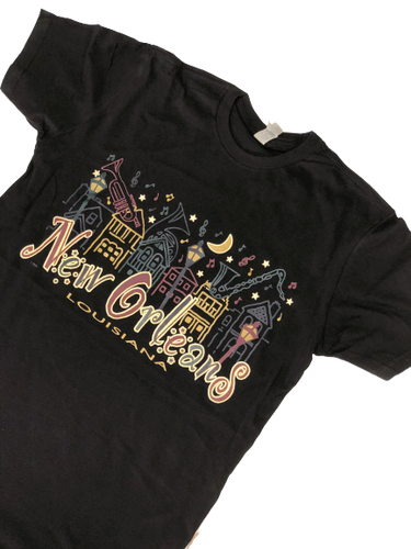 New Orleans Nights T-Shirt