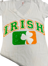 Irish V-neck T-Shirt