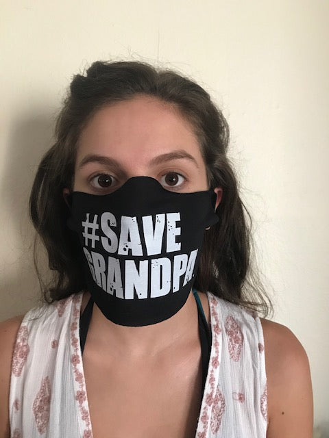 #SAVEGRANDPA Face Mask