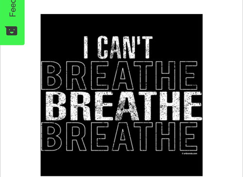 BLM I Can't Breathe T-Shirt