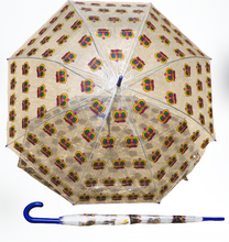 Clear Golf Umbrella with Crowns