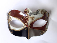 Venetian Style Eyelet mask with 3 Color Combination
