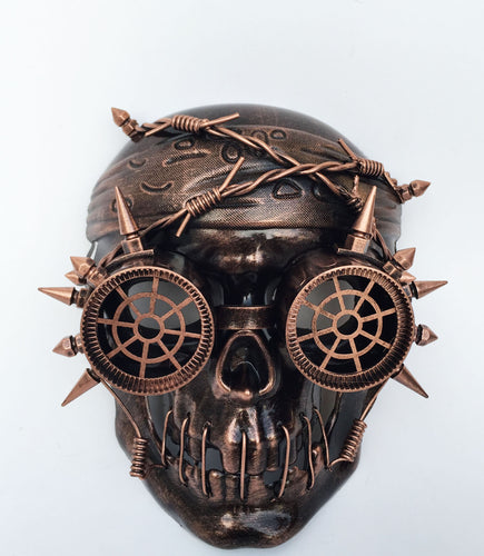 Steampunk Pirate Skull Mask