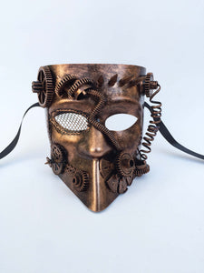 Steampunk Warrior Full Face Mask