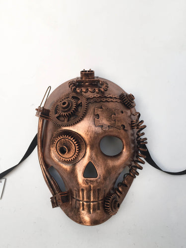 Steampunk Skull Style Full Face Mask