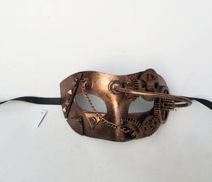 Steampunk Eyelet Mask
