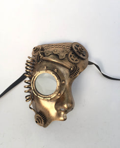 Steampunk Phantom Face