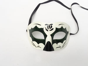 Day of the Dead Eyelet Mask