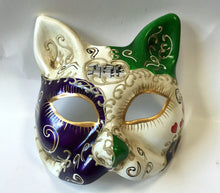 Cat Mask with All Over Print
