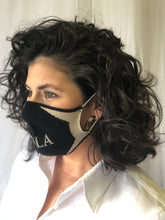 Black NOLA Knit Face Mask