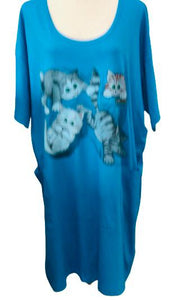 Kitty Quartet Nightshirt