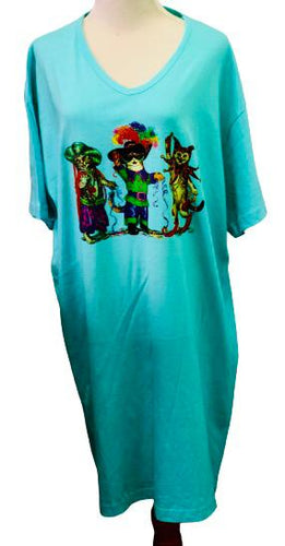 Pirate Cats Nightshirt