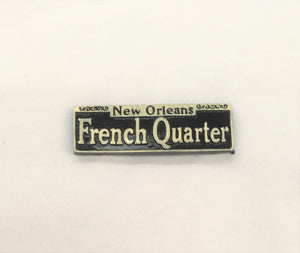 French Quarter Street Sign Magnet