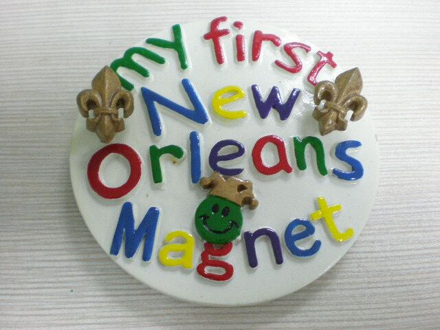 My First New Orleans Magnet