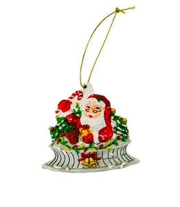 Santa on the Superdome Christmas Ornament