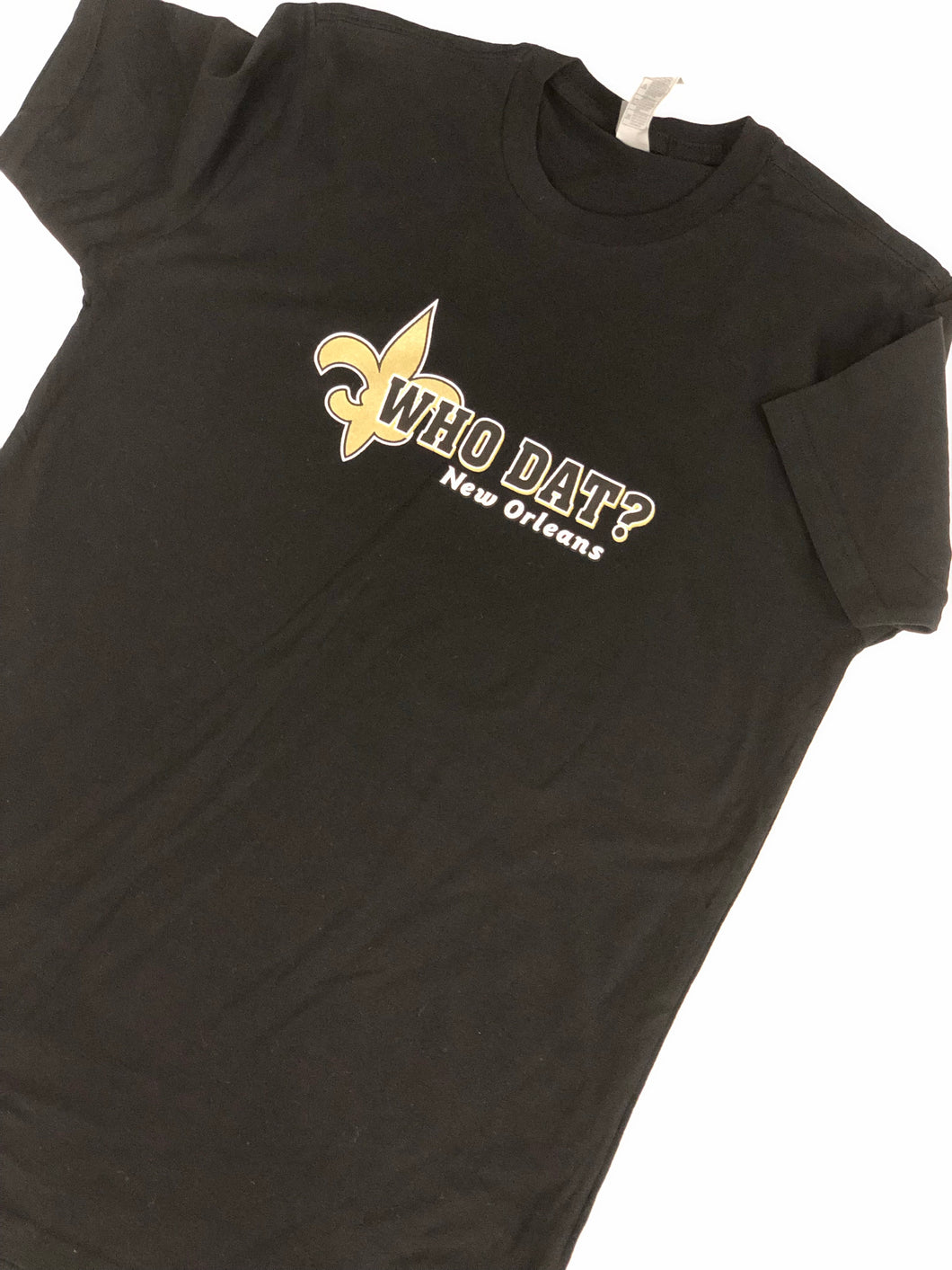Who Dat Black and Gold T-shirt