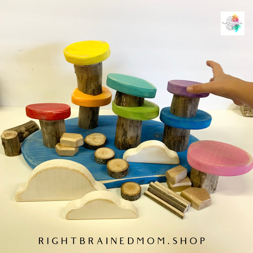 Sight Word - Wooden Discs - Pack One
