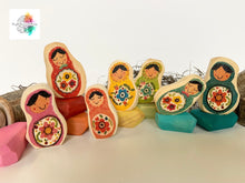 Colourful dolls/gems