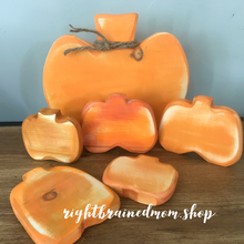 Wooden Pumpkins
