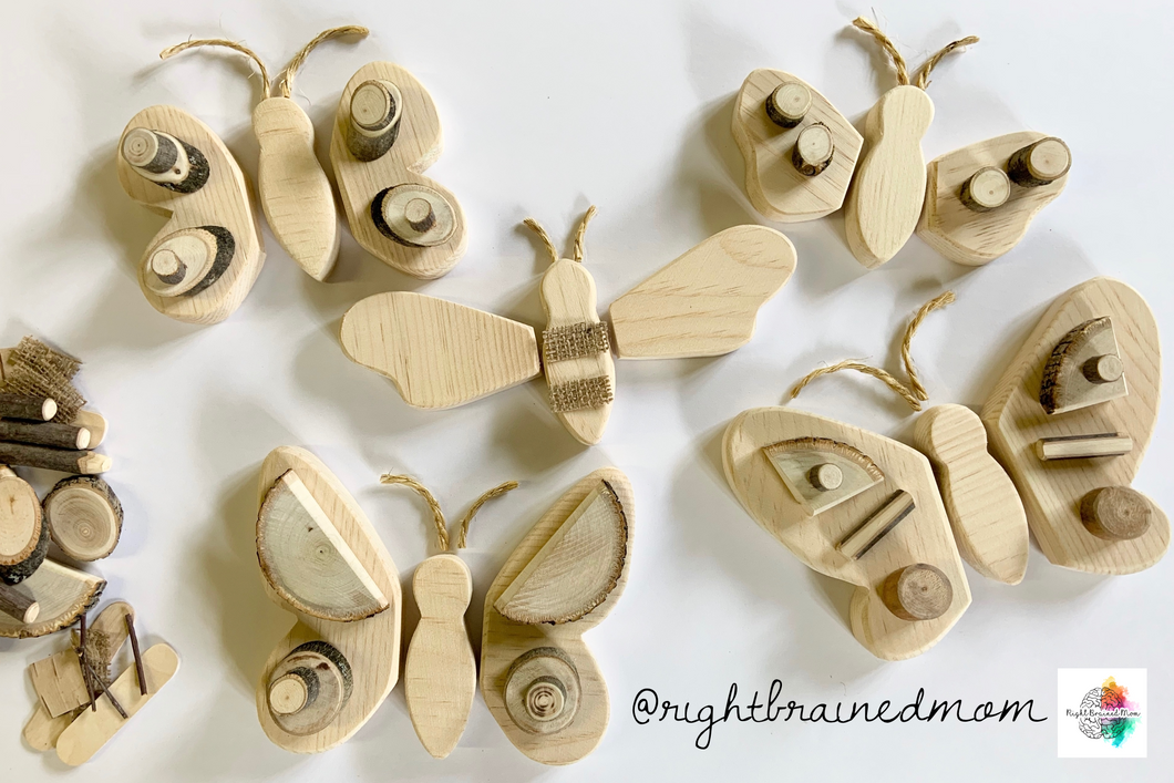 Butterfly/insect loose parts