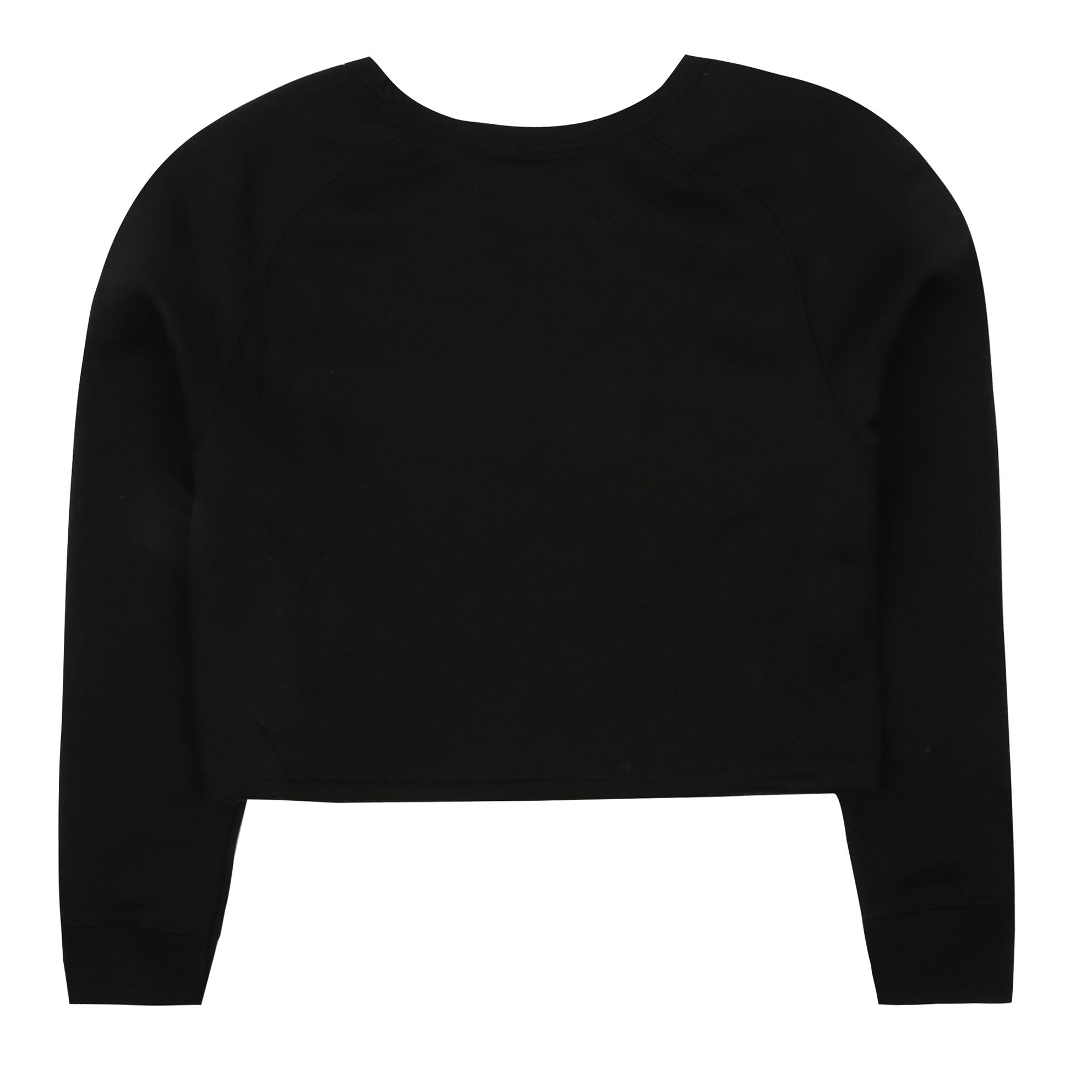 NYC Star Cropped Crew - Black