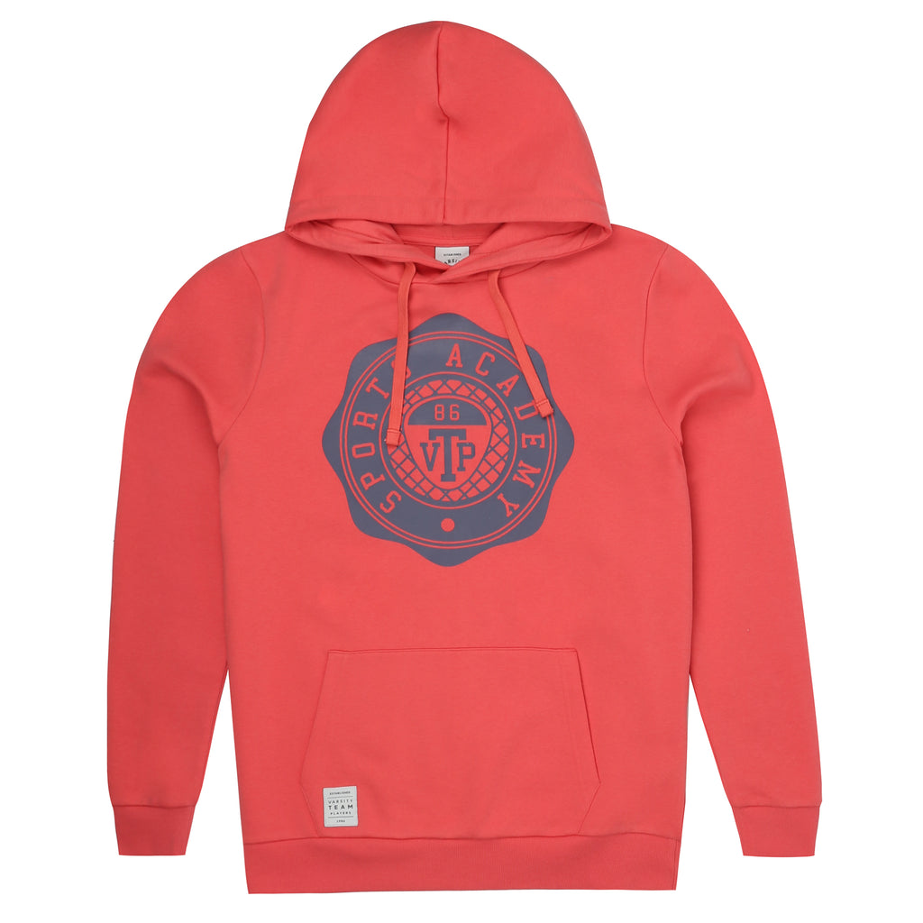 Varsity Team Player Pullover Hood - Vintage Red