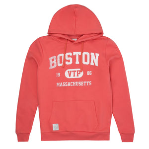 Boston Pullover Hood - Vintage Red
