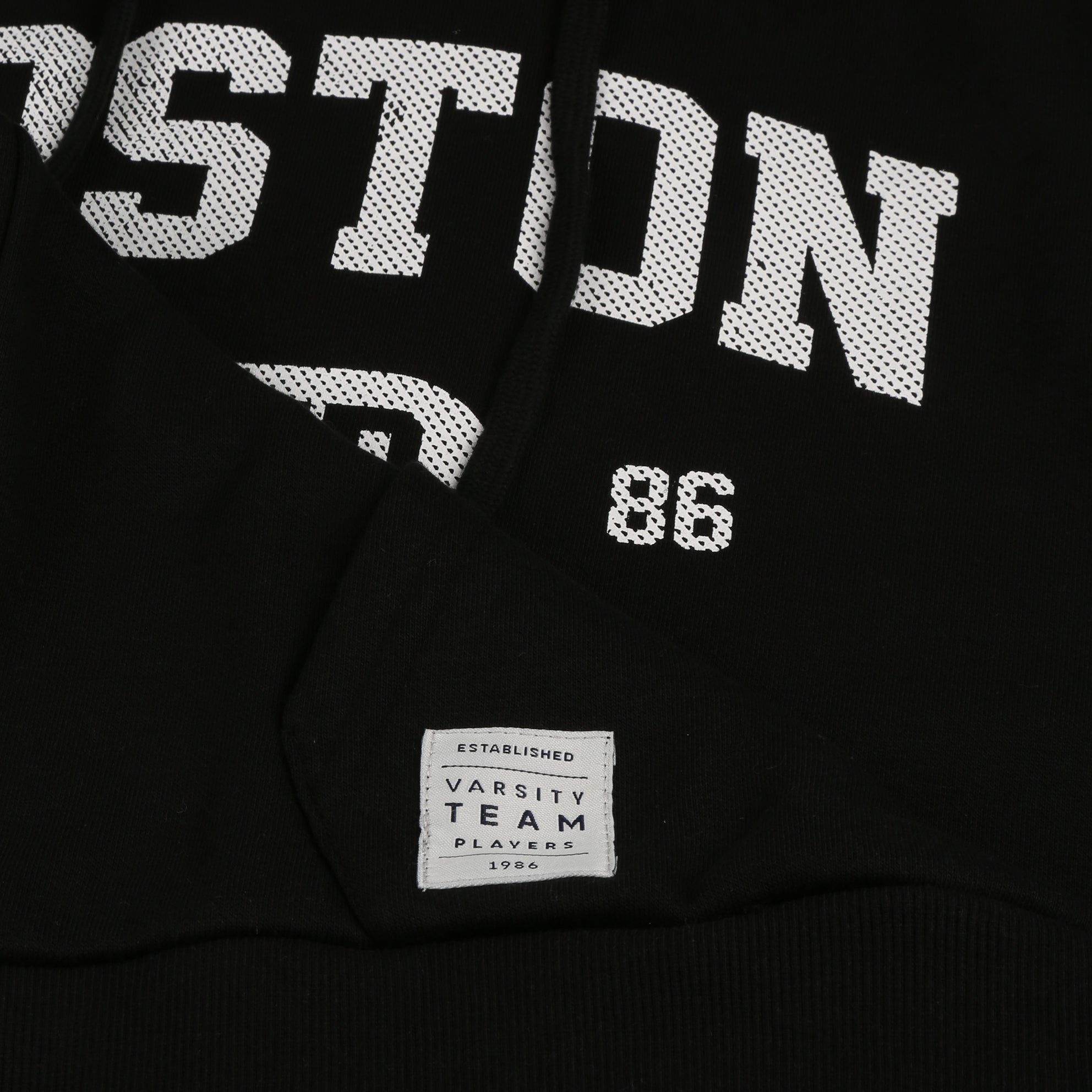 Boston Pullover Hood - Black