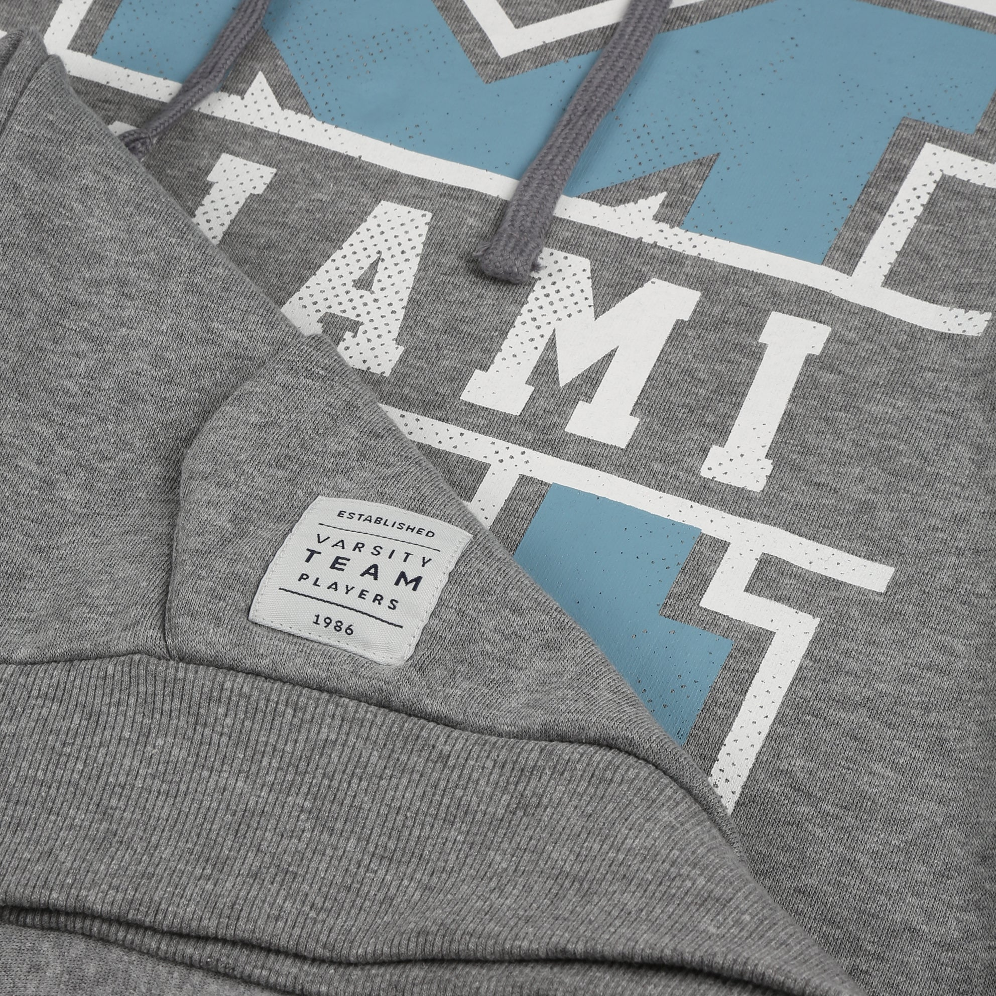 Miami Pullover Hood - Graphite Heather