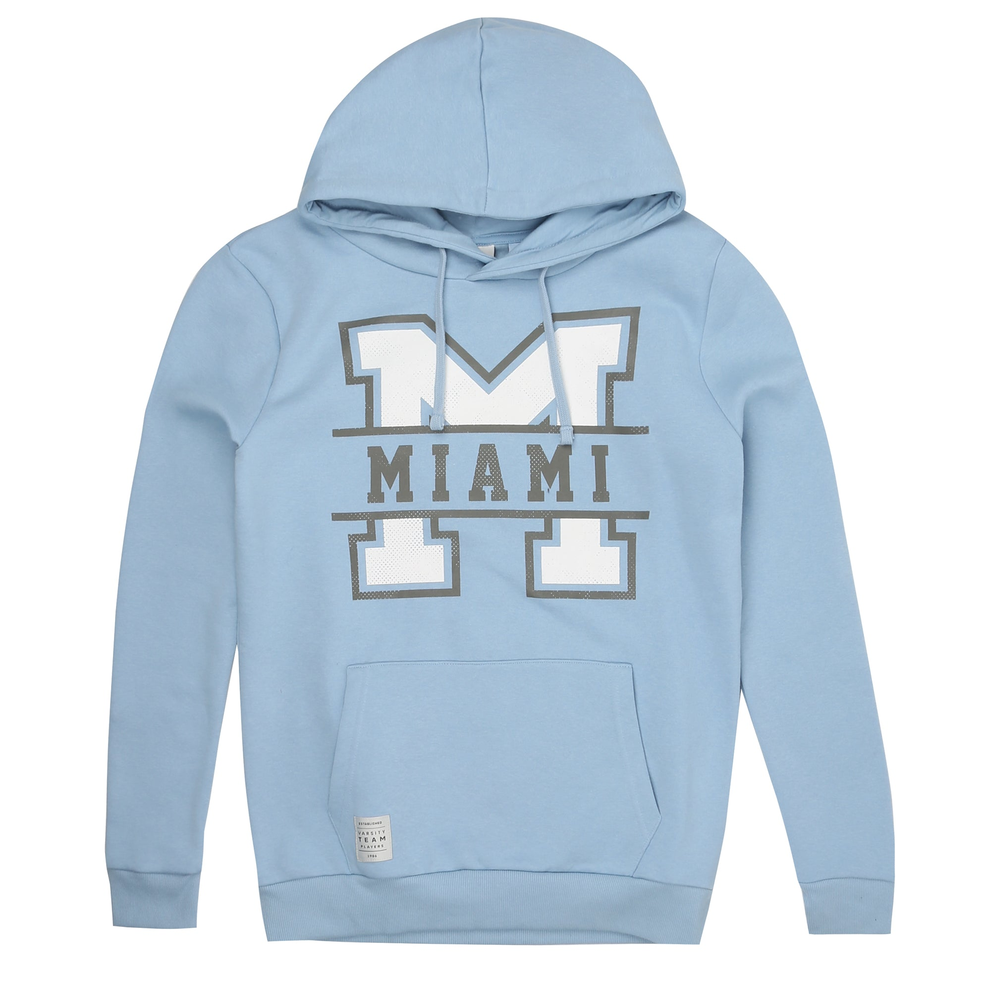 Miami Pullover Hood - Powder Blue