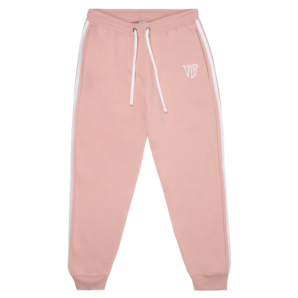Emblem Jog Pants - Dusty Pink