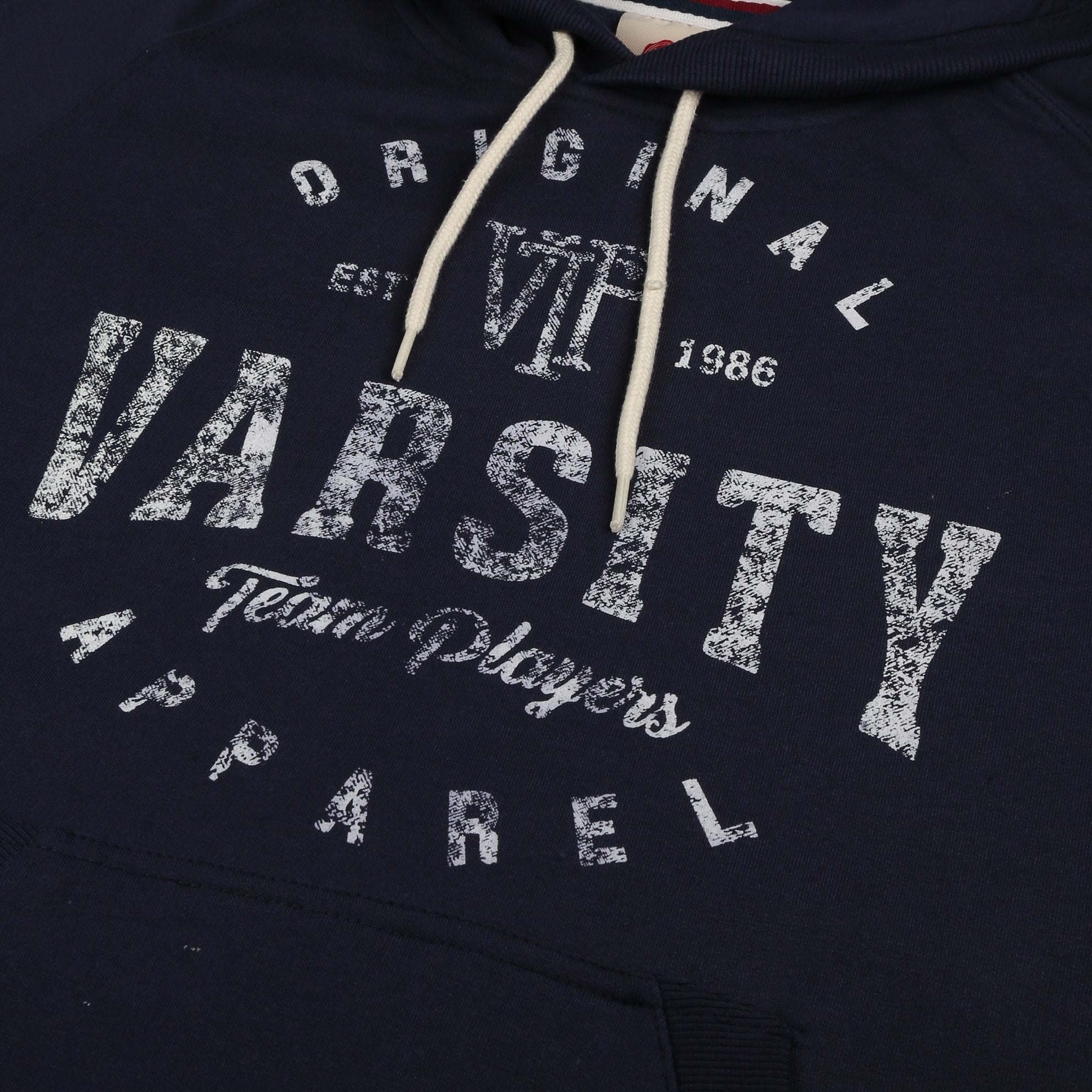 Massachusetts Pullover Hood - Navy