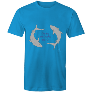 Say no to shark nets unisex t-shirt