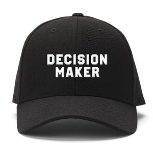 Decision Maker Baseball Cap