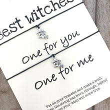 Halloween best witches bracelet set