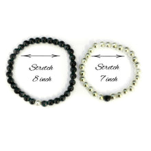 Distance Bracelets for Couples SET of 2, Couples Relationship Bracelets, A Reminder of Love, Long Distance Relationship Gifts, His and Hers