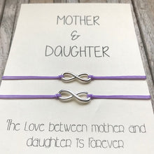 Mother daughter bracelet set of 2