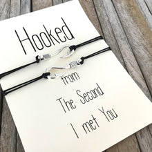 Matching bracelets for couples, Couples gifts, Hooked on you