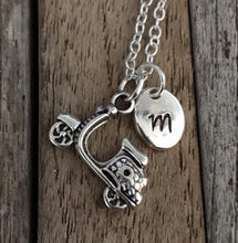 Personalized scooter necklace, Gift for teenager, Teenager necklace, Moped charm necklace