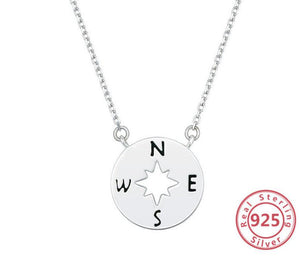 Graduation Gift Necklace for Girls, 2021 Graduation, Compass Jewelry, College High School Grad Elementary School, Senior Graduation, Compass