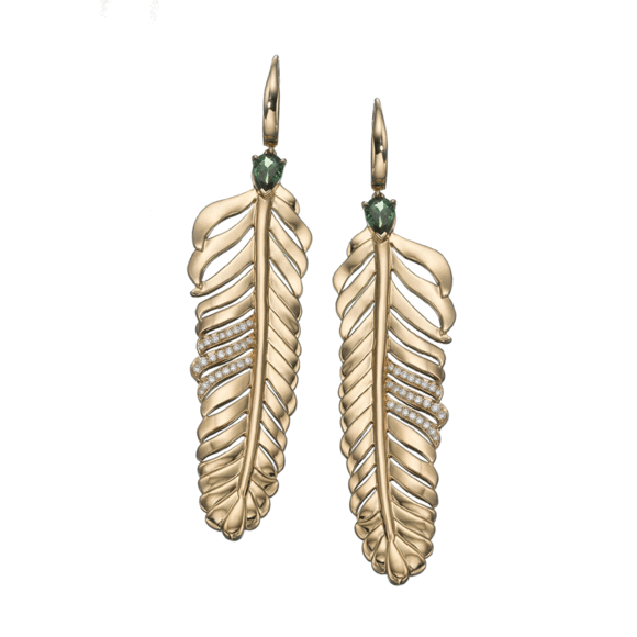 Dream Feather earrings