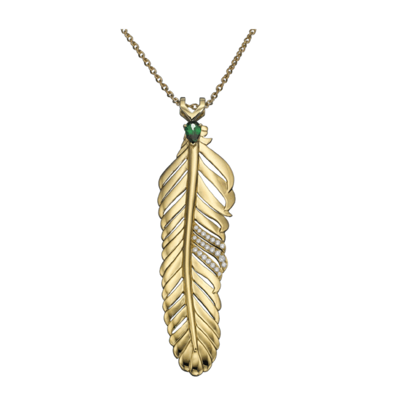 Dream Feather pendant