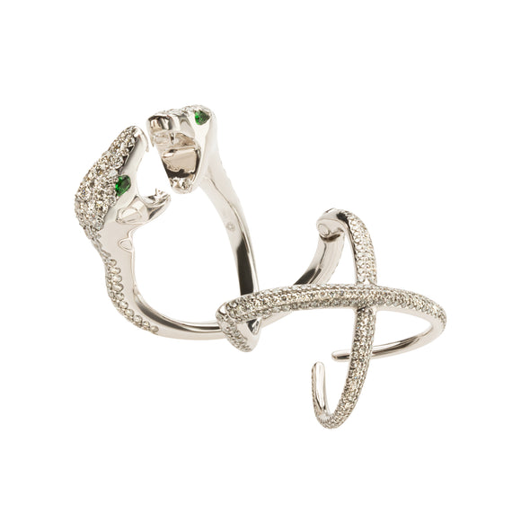 """One and Only"" Snake ring"