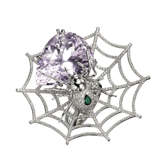 Jungle Fever Spider Ring