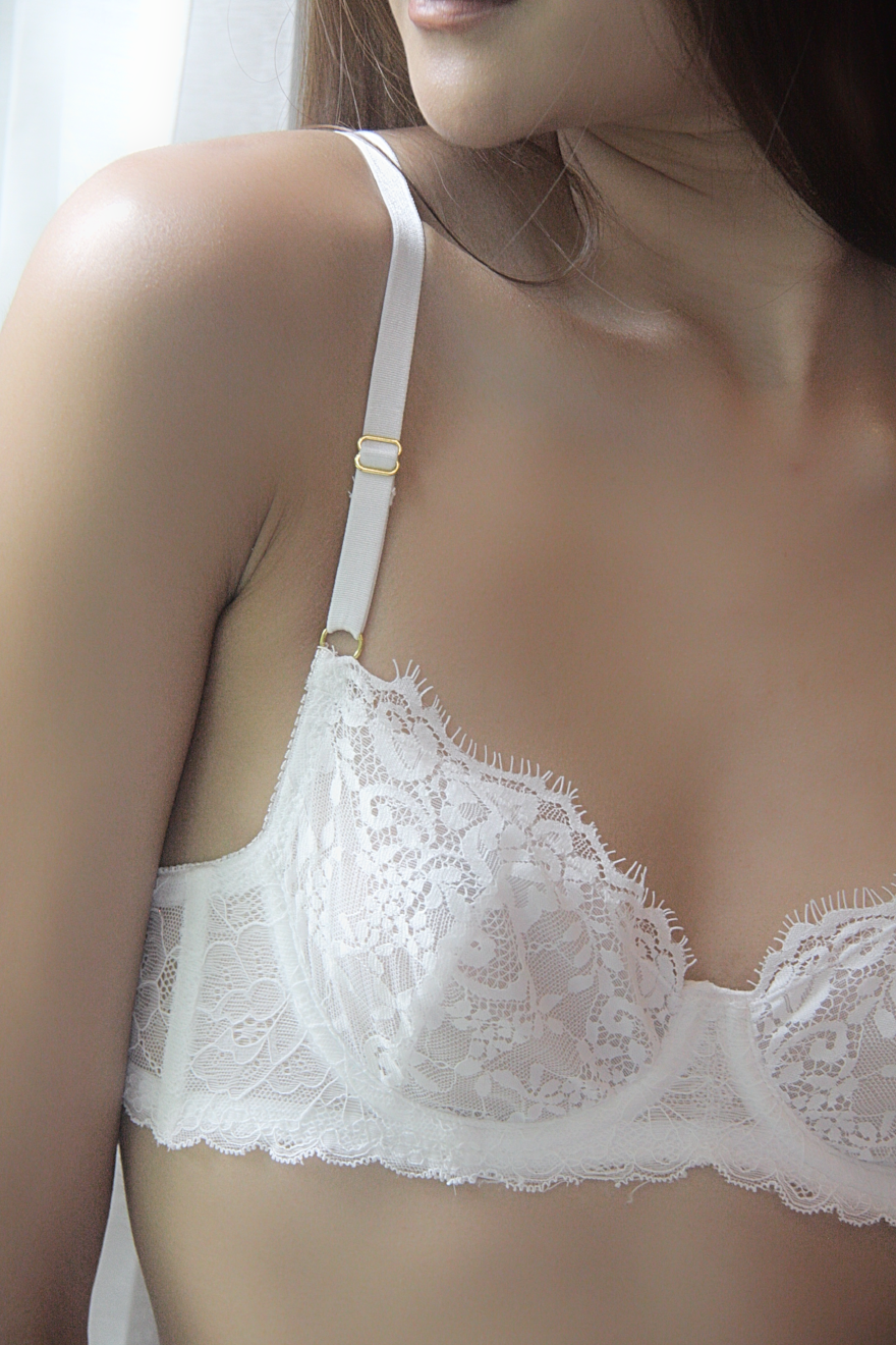 CLARITY UNDERWIRE WHITE